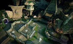 ArtStation - Fable Legends Villain Level, Woko Rob Watkins