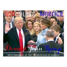 Trump Is My President, Trump One, Robert Junior, January 20, Jan 20, Donald And Melania, Republican Presidents, Greatest Presidents, Postcard Invitation