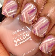 Polish Obsession: Jelly sandwiched #nailart