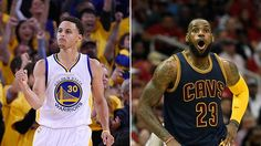 Stephen Curry and LeBron James react to the news. (USA TODAY Sports)