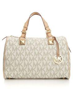 MICHAEL Michael Kors Handbag, Grayson Large Satchel