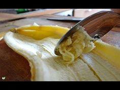 Después de ver esto, nunca más volverás a botar las cáscara de plátano. Es realmente increíble. - YouTube