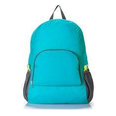High quality Nylon multi-functional backpack, lightweight and foldable  backpack female men s backpack e3ae007b40