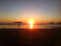 SUNSET. #WishYouWereHere #Beach #Ucluelet