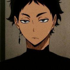Anime Wolf, Manga Anime, Anime Art, Haikyuu Fanart, Haikyuu Anime, Black Haired Anime Boy, Akaashi Keiji, Haikyuu Akaashi, Oikawa Tooru