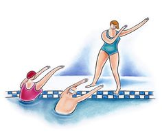 Spring into a New Swimming Pool Workouts - Water Aerobics