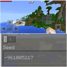 Here is a really Really awesome minecraft PE seed. - Minecraft, Pubg, Lol and Minecraft Pe Seeds, Cute Minecraft Houses, Minecraft Mansion, Minecraft House Tutorials, Minecraft Plans, Minecraft House Designs, Minecraft Tutorial, Minecraft Blueprints, Minecraft Creations