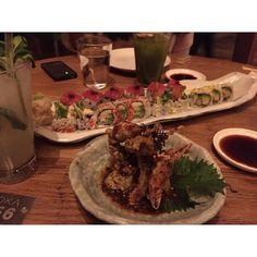 soft shell crave. throwback! #zbeda #zbedagirl #roka #london #softshell #london #canarywharf #sushi #sushitime #ローカーボ #yellowtail #mojito #londondining #londonrestaurants #food #foodblogger #instalike #friday #friyay #lemon #Instagram #instalike #instafood @rokarestaurant #aesopbathroom #mayfair #uk #london by zbeda_girls
