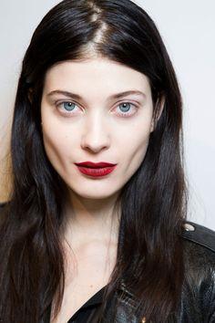 Makeup at the Max Mara F/W 2014 show.