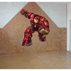Superhero iron Man Full Color Decal, iron Man Full color sticker,colored Sticker Decal size 22x26
