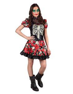 Eine mexikanische Tradition die auch bei uns immer beliebter wird - probieren doch auch Sie den bunten Dìa de los muertos-Look dieses Halloween aus !