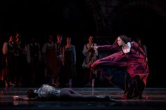 Tai Jimenez with Boston Ballet in Romeo and Juliet, photo by Rosalie O'Connor.