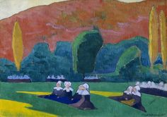 Loved this painting by Emile Bernard at the Dallas Museum of Art