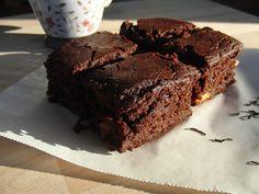 La Sissa: Brownie al cacao e arance vegano