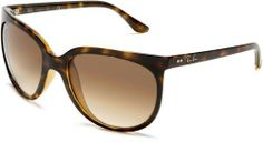 Ray-Ban RB4126 Cats 1000 Sunglasses 57 mm, Non-Polarized, Tortoise/Brown Gradient Ray-Ban. $99.88. Case included:Lenses are prescription ready (Rx-able). Bridge: 15 millimeters. Non-polarized. Lens height: 48 millimeters. Lens width: 57 millimeters. Crystal lens. ZYL frame. Propionate. 100% UV protection coating. Arm: 140 millimeters. Save 29%!