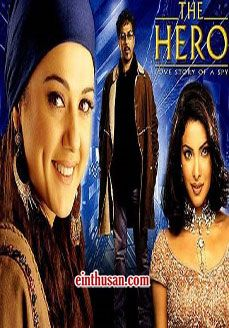 The Hero: Love Story Of A Spy Hindi Movie Online - Sunny Deol, Preity Zinta and Priyanka Chopra. Directed by Anil Sharma. Music by Pravin Mani. 2003
