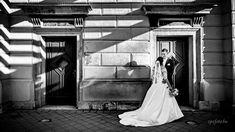 Wonderful shadows #wedding #blackandwhite #bride #groom