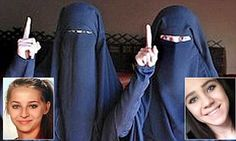 Teenage Austrian 'poster girls for #ISIS' now want to come home #DailyMail