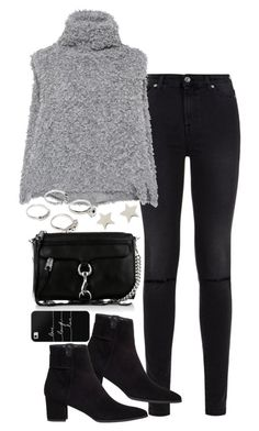 """Untitled #1571"" by breannaflorence ❤ liked on Polyvore featuring 7 For All Mankind, Vika Gazinskaya, Rebecca Minkoff, Stuart Weitzman, Casetify, Lauren Klassen and Daisy Knights"