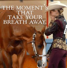 Shannon Brown Huntin A Gal winning the AQHA World Show in Showmanship.