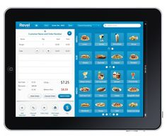 iPad Point of Sale on 3G, Revel Systems (UI design) screen shot 2