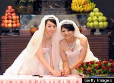Taiwan's first same-sex wedding held at a Buddhist monastery