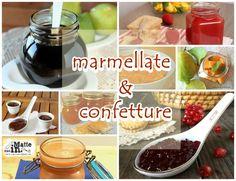 Ricette Confetture e marmellate, nel periodo in cui la frutta è fresca ed abbonda sugli alberi è sempre meglio fare la scorta per la nostra dispenza.