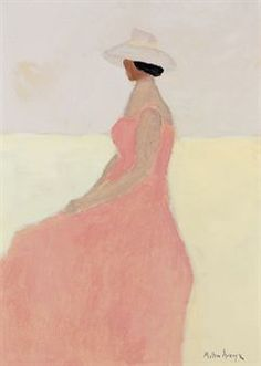 Milton Avery, (American artist, 1885-1965) Seated Figure  It's About Time: The Paintings of American, Milton Avery 1888-1965