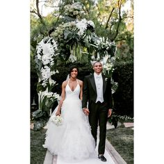 Russell Westbrook and Nina Westbrook, who got married on Saturday, August 29th, 2015, at the Beverly Hills Hotel