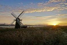 Sunset on the Suffolk Fens