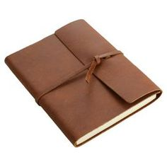 Writers Log Notebook in Saddle