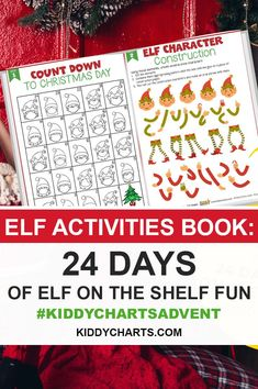 Looking for some exciting gifts for kids? Here we present our Kiddycharts Elf activity book to you. So Download, print and have more fun on this Christmas.