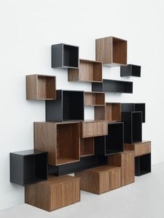 wall boxes with spaces