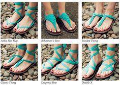 Dozens of styles. 1 shoe.  EcoFriendly fashion!