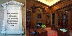 Mrs. Widener, who lost her husband and son on Titanic, erected the Widener Memorial Library in honor of son at Harvard University #Harvard #Titanic