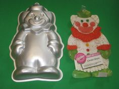 Wilton 1-2-3 Circus Clown Cake Pan with Insert Used