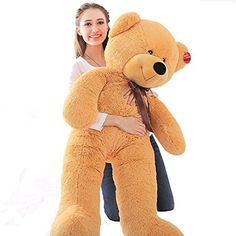 Niuniu Daddy Giant Teddy Bear Stuffed Animal Toy Plush Pillow 47 >>> See this great product.