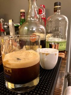 #cocktails ☕️💋 #coffee #bourbon #recipeideas #alcoholic #beverage #diykitchen #espresso