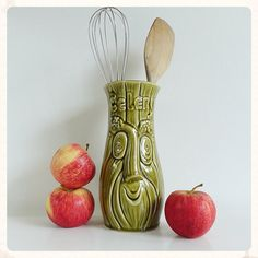 Green and red by vintage indeed on Etsy