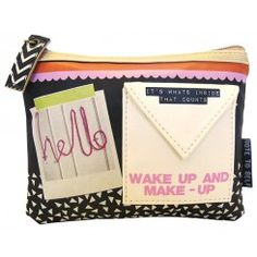 Note To Self Hello Make-up Bag