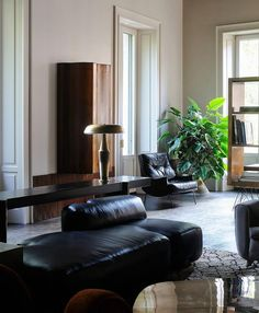 MAD ABOUT INTERIOR DESIGN — Minimal Dandy in Milan Italian apartment decorated...
