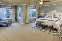 White grey bedroom