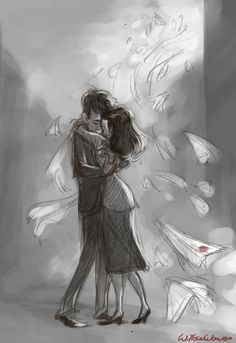 Paperman and Meg I love this short so much. It is my absolute favorite Disney short! Disney Dream, Disney Love, Disney Magic, Disney Art, Disney And Dreamworks, Disney Pixar, Walt Disney, Paperman Disney, Disney Shorts