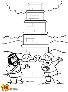 Tower of Babel maze, crossword, cryptogram, anagrams, and
