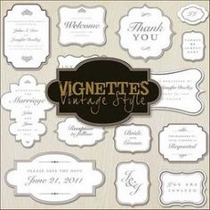 Vgnettes Frames - Free Download of PNG Files by uveroalto