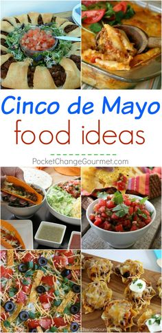 Not sure what to make for Cinco de Mayo? No worries! Here are amazing and EASY Cinco de Mayo Food Ideas for you! Be sure to save by pinning to your Recipe Board! (Mexican Recipes For Kids)