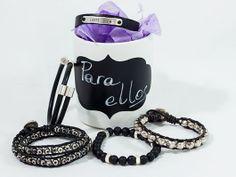 Pulseras de chico. Ideas de pulseras para hombre. #Beryllos: Materiales para Bisutería http://www.beryllos.es