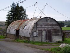 quonset hut images | Quonset Huts