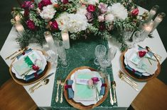 Stained Glass Wedding Inspiration At The Fig House
