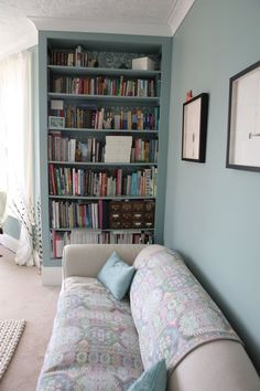 All the pretty blues: 20 Bold & Beautiful Blue Wall Paint Colors | Apartment Therapy